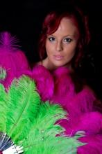 pink-green-burlesque-fan-australia