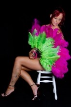 pink-green-burlesque-feather-fan-australia