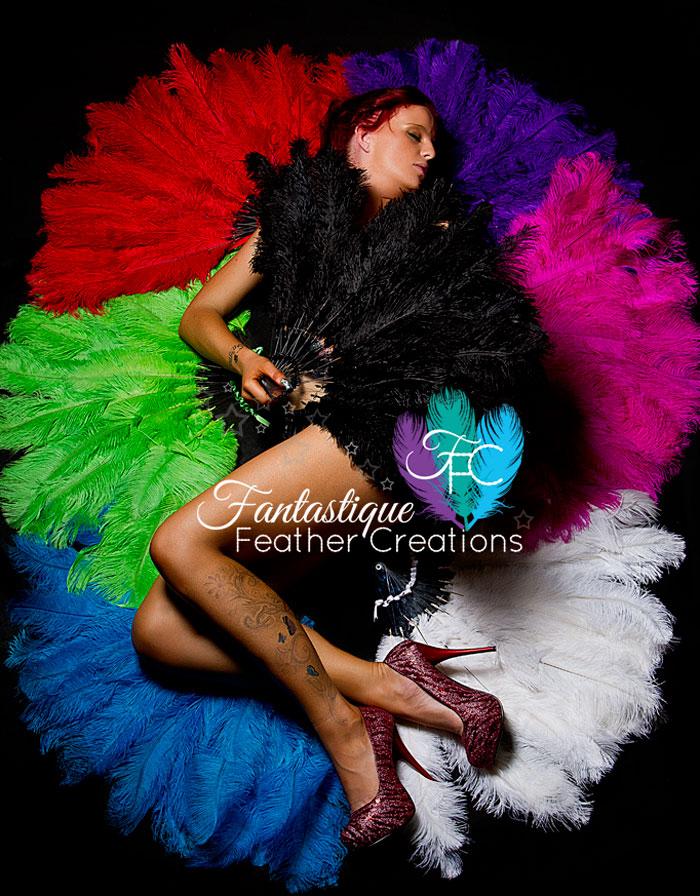 Fantastique Feather Creations - Australian Handmade Feather Fans & Accessories