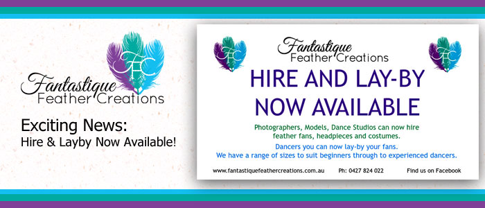 Hire and Lay-by Now Available